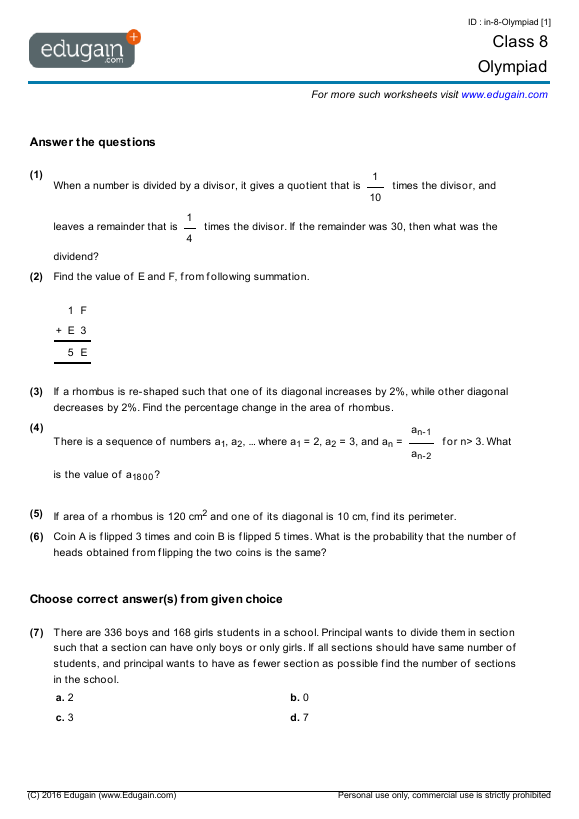 Multiplication Worksheets Area Model Multiplication Worksheets – Area Model for Multiplication Worksheets